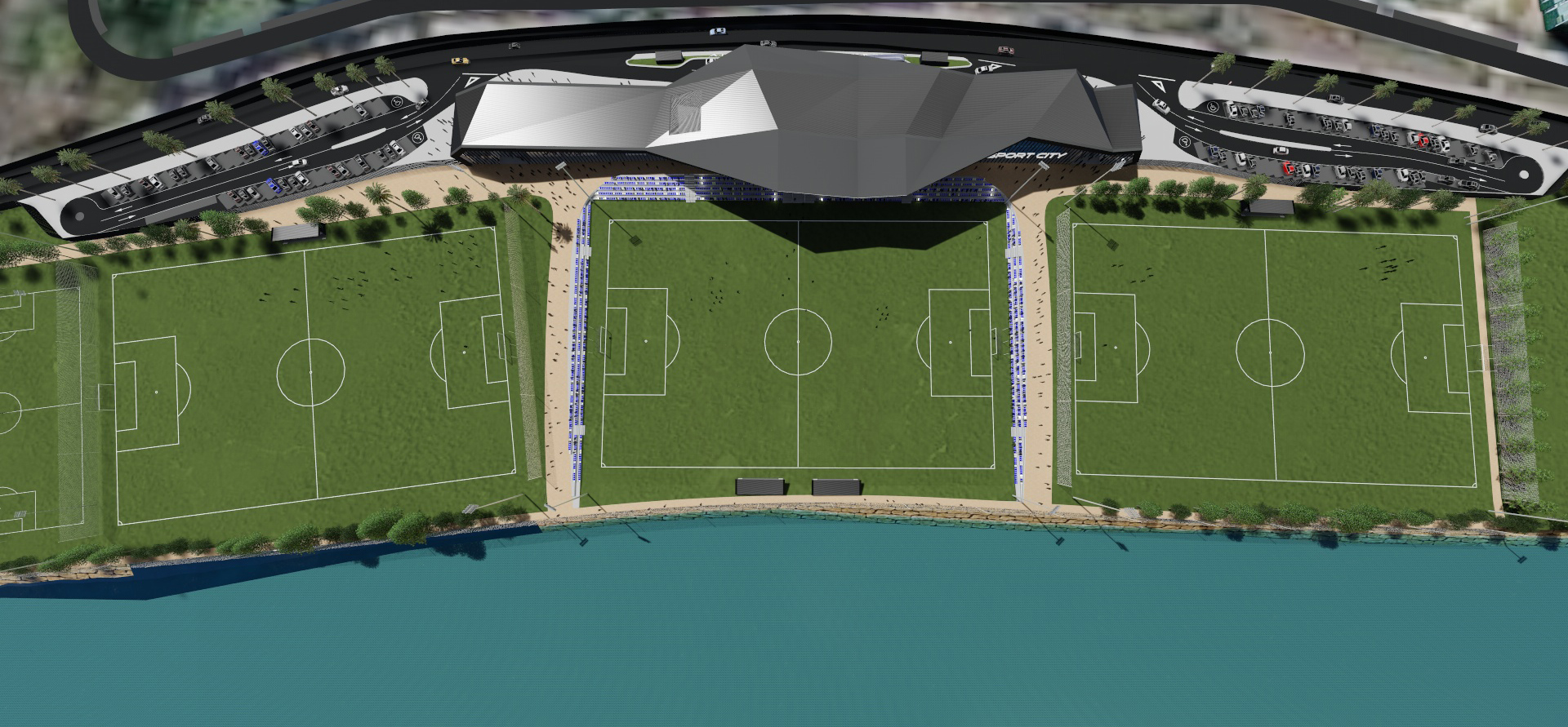 architect Marbella football fields